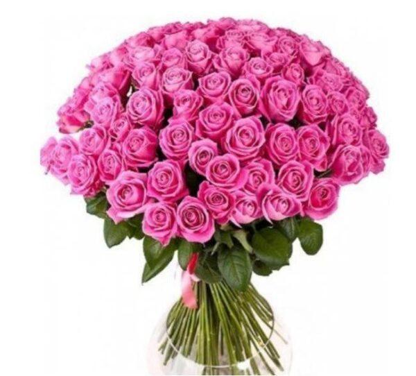 Букет из 51 розы в ассортименте