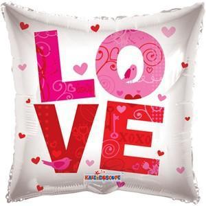 Фольгированный шар LOVE