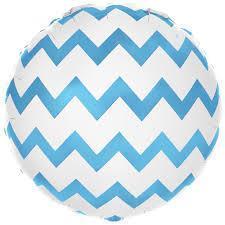 Фольгированный шар Зигзаги