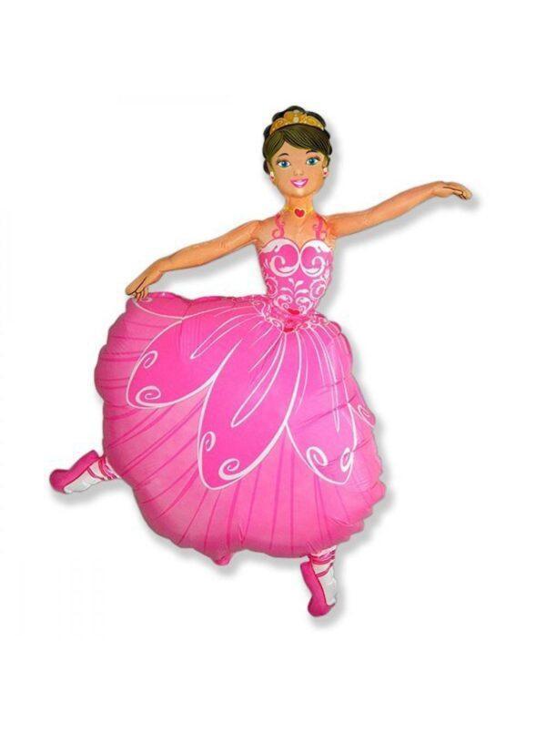 Фольгированный шар балерина